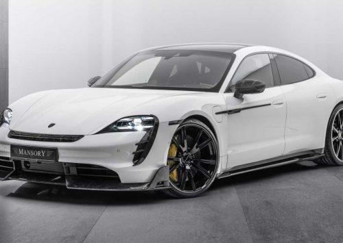 Mansory geeft Porsche Taycan een verrassend ingetogen make-over