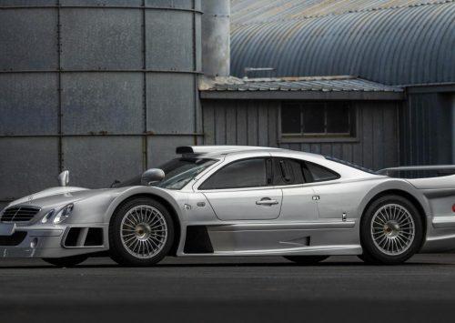 Mercedes-Benz CLK GTR betreedt het veilingblok!!