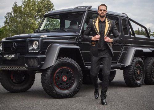 Joel Beukers koopt ultieme auto, Mercedes G63 6×6!